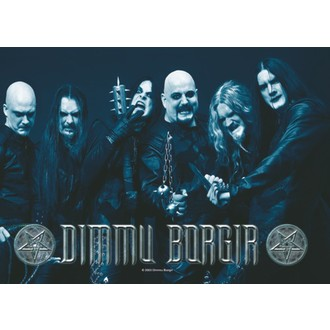 bandiera Dimmu Borgir - Band Photo, HEART ROCK, Dimmu Borgir