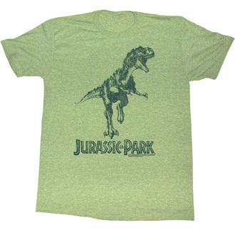 t-shirt film uomo Jurassic Park - Green T-Rex - AMERICAN CLASSICS, AMERICAN CLASSICS, Jurassic Park