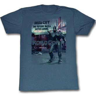 t-shirt film uomo Robocop - Silver - AMERICAN CLASSICS, AMERICAN CLASSICS, Robocop
