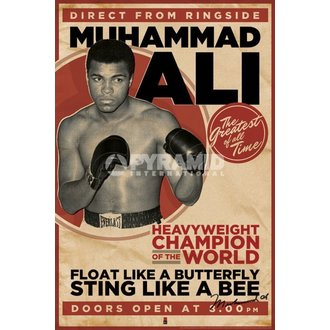 poster Muhammad Ali - Vintage - Corbis - PYRAMID POSTER, PYRAMID POSTERS