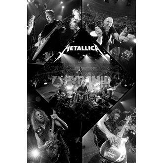 poster Metallica - Live - PYRAMID POSTER, PYRAMID POSTERS, Metallica