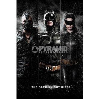 poster Batman - The Buio Knight Rises - Tre - PYRAMID POSTER, PYRAMID POSTERS