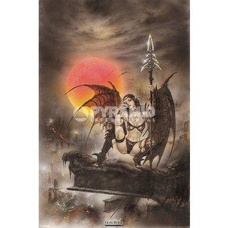 poster Luis Royo - Nero Tinkerbell - PYRAMID POSTER, PYRAMID POSTERS, Luis Royo