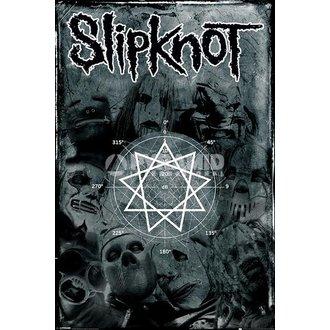 poster Slipknot - Pentagramma - PYRAMID POSTERS, PYRAMID POSTERS, Slipknot