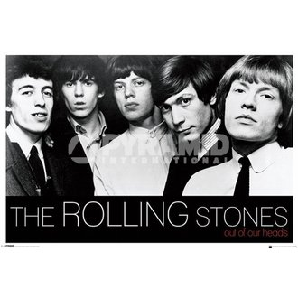 poster Rolling Stones - Out Of Nostro Teste - PYRAMID POSTER, PYRAMID POSTERS, Rolling Stones