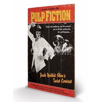 Immagine di legno Pulp Fiction - Torcere Concorso - PYRAMID POSTERS, PYRAMID POSTERS, Pulp Fiction