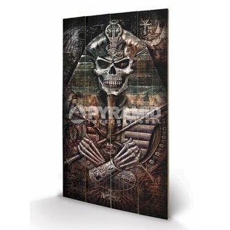 in legno immagine Alchemy - Thoth Codice - PYRAMID POSTER, ALCHEMY GOTHIC