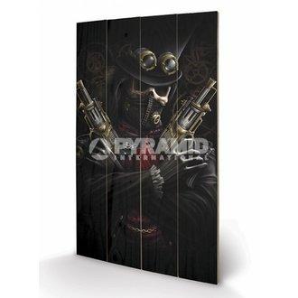 in legno immagine Spiral - Steampunk Bandito - PYRAMID POSTER, SPIRAL