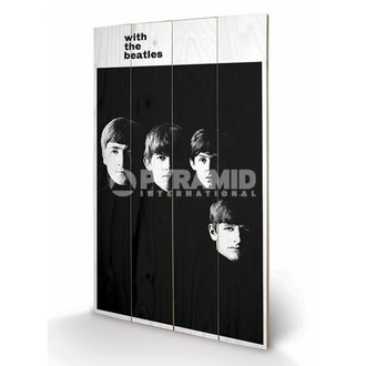 in legno immagine The Beatles - With The Beatles - PYRAMID POSTER, PYRAMID POSTERS, Beatles