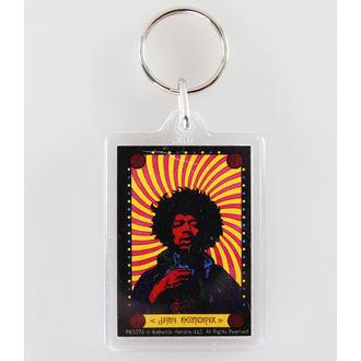portachiavi (ciondolo) Jimi Hendrix - Pyschedelic - PYRAMID POSTER, PYRAMID POSTERS, Jimi Hendrix