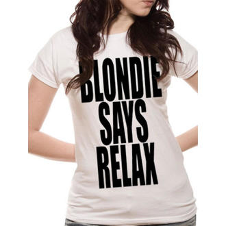 t-shirt metal donna Blondie - Says Relax - LIVE NATION, LIVE NATION, Blondie