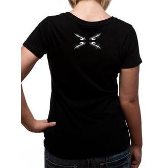 t-shirt metal donna Metallica - Spiked Logo -, Metallica