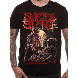 t-shirt metal uomo Suicide Silence - Grave - LIVE NATION, LIVE NATION, Suicide Silence