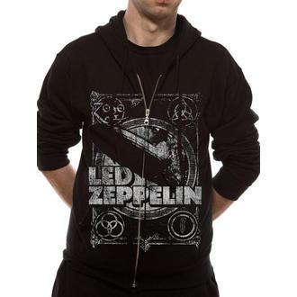 felpa con capuccio uomo Led Zeppelin - Shook Me - LIVE NATION, LIVE NATION, Led Zeppelin
