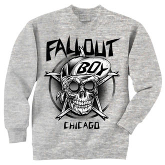 felpa senza cappuccio uomo Fall Out Boy - Skull - LIVE NATION, LIVE NATION, Fall Out Boy