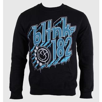 felpa senza cappuccio uomo Blink 182 - Drip Type - LIVE NATION, LIVE NATION, Blink 182