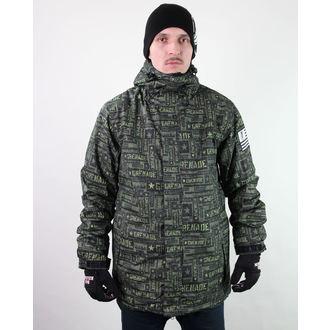 giacca invernale uomo - Task Force - Green - GRENADE, GRENADE
