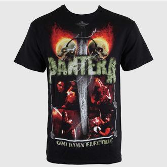 t-shirt metal uomo Pantera - Lightning Skulls - BRAVADO, BRAVADO, Pantera