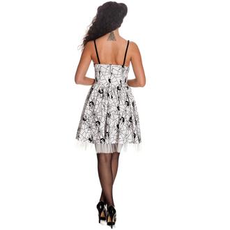 vestito donna HELL BUNNY - Mary Jane - WHT - 4288