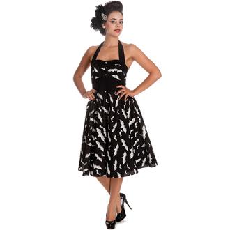 vestito donna HELL BUNNY - Bat 50´s - Blk/Wht