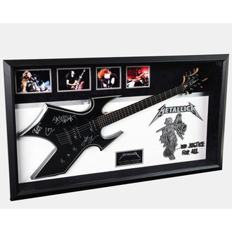 autografo chitarra METALLICA, ANTIQUITIES CALIFORNIA, Metallica