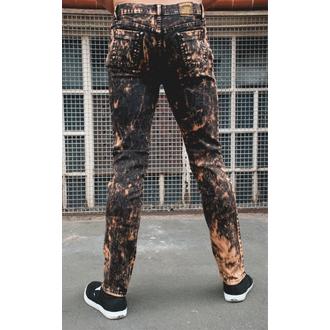 pantaloni uomo 3RDAND56th - Acido Lavaggio Skinny, 3RDAND56th
