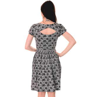 vestito donna 3RDAND56th - Pieghe Carlino - Argento / Grigio, 3RDAND56th