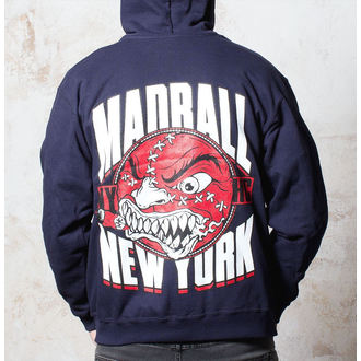 felpa con capuccio uomo Madball - Red Ball - Buckaneer, Buckaneer, Madball