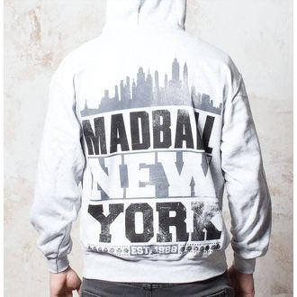 felpa con capuccio uomo Madball - Skyline - Buckaneer, Buckaneer, Madball