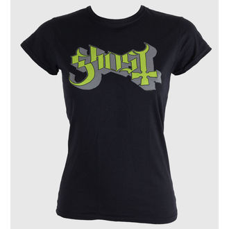 t-shirt metal donna Ghost - Keyline Logo - ROCK OFF, ROCK OFF, Ghost