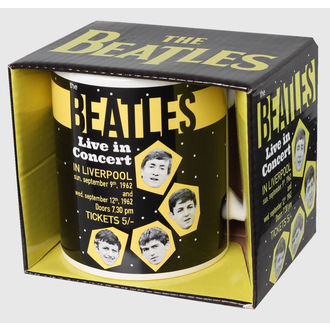 tazza The Beatles - Live In Concerto - ROCK OFF, ROCK OFF, Beatles