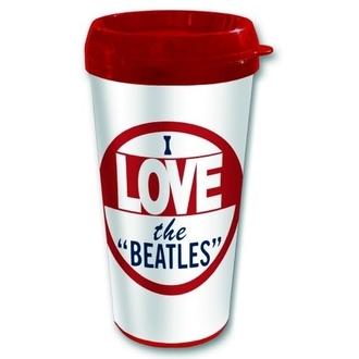 tazza termo The Beatles - I amare The Beatles - ROCK OFF, ROCK OFF, Beatles