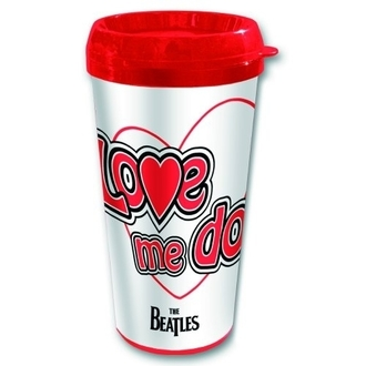 tazza termo The Beatles - Love Me Do - ROCK OFF, ROCK OFF, Beatles