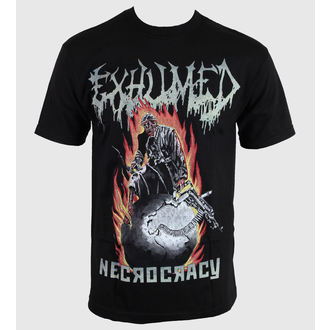 t-shirt metal uomo Exhumed - Necrocracy - RELAPSE, RELAPSE, Exhumed