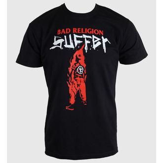 t-shirt metal uomo Bad Religion - Black Suffer - KINGS ROAD, KINGS ROAD, Bad Religion