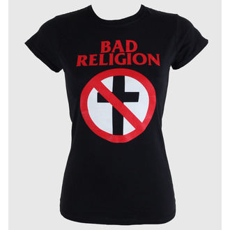 t-shirt metal donna Bad Religion - Cross Buster - KINGS ROAD, KINGS ROAD, Bad Religion