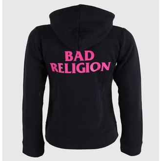 felpa con capuccio donna Bad Religion - Hot Pink - KINGS ROAD, KINGS ROAD, Bad Religion