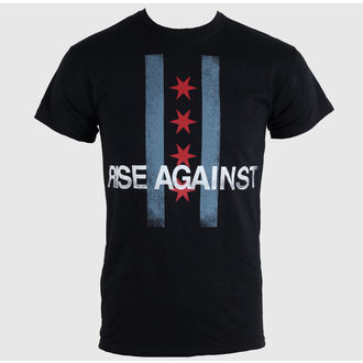 t-shirt metal uomo unisex Rise Against - Flag - KINGS ROAD, KINGS ROAD, Rise Against