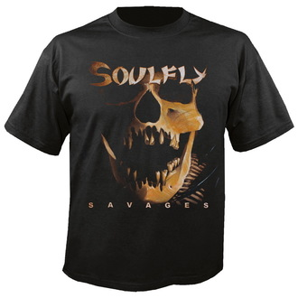 t-shirt metal uomo unisex Soulfly - Savages - NUCLEAR BLAST, NUCLEAR BLAST, Soulfly
