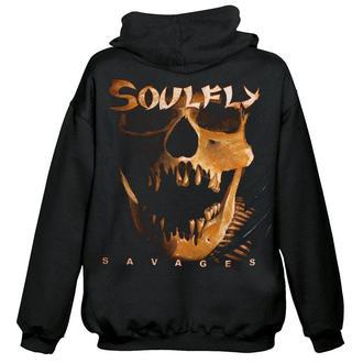 felpa con capuccio uomo Soulfly - Savages - NUCLEAR BLAST, NUCLEAR BLAST, Soulfly