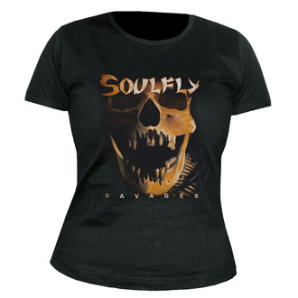 t-shirt metal donna unisex Soulfly - Savages - NUCLEAR BLAST, NUCLEAR BLAST, Soulfly