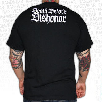 t-shirt metal uomo unisex Death Before Dishonor - Black Bats - RAGEWEAR, RAGEWEAR, Death Before Dishonor