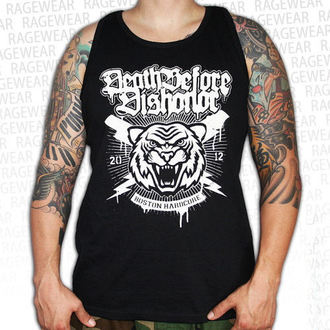 t-shirt uomo Death Before Disonore - Tiger - Nero - RAGEWEAR, RAGEWEAR, Death Before Dishonor