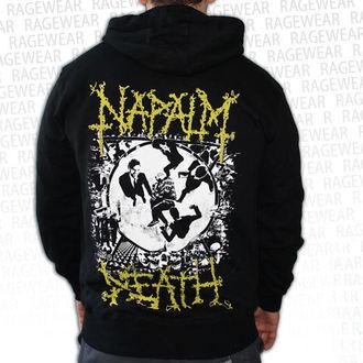 felpa con capuccio uomo Napalm Death - Ultilitarian - RAGEWEAR, RAGEWEAR, Napalm Death