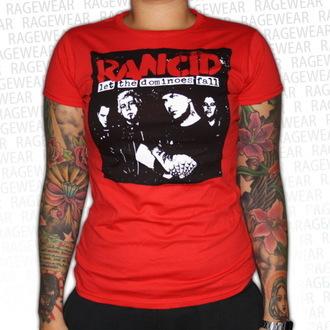 t-shirt metal donna unisex Rancid - Dominoes - RAGEWEAR, RAGEWEAR, Rancid