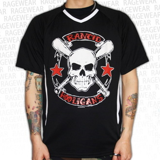 t-shirt metal uomo unisex Rancid - Hooligans Big Skull - RAGEWEAR, RAGEWEAR, Rancid
