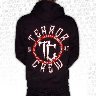 felpa con capuccio uomo Terror - Hardship - RAGEWEAR, RAGEWEAR, Terror