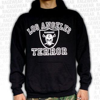 felpa con capuccio uomo Terror - Los Angeles - RAGEWEAR, RAGEWEAR, Terror