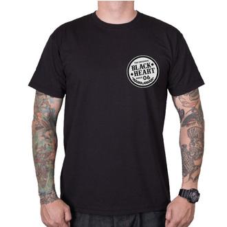 t-shirt street uomo - ROADSTER HOT ROD - BLACK HEART, BLACK HEART