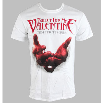 t-shirt metal uomo unisex Bullet For my Valentine - Temper Temper Blood Hands - BRAVADO EU, BRAVADO EU, Bullet For my Valentine